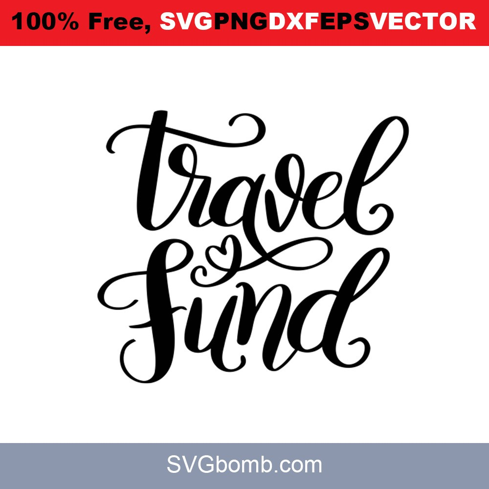 Travel Fund SVG Vector | SVGbomb.com