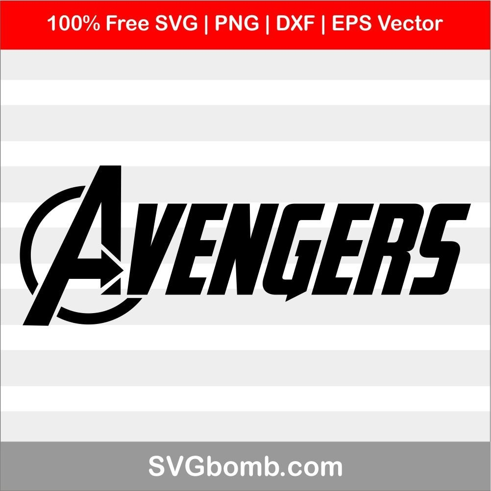Free Vector Avengers SVG silhouette clip art download
