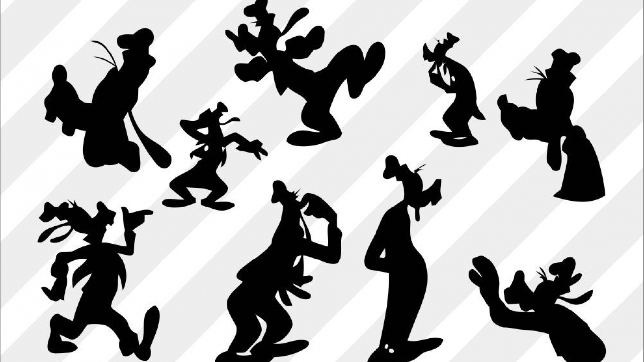 free Goofy Disney SVG Cut File for Silhouette Cameo download