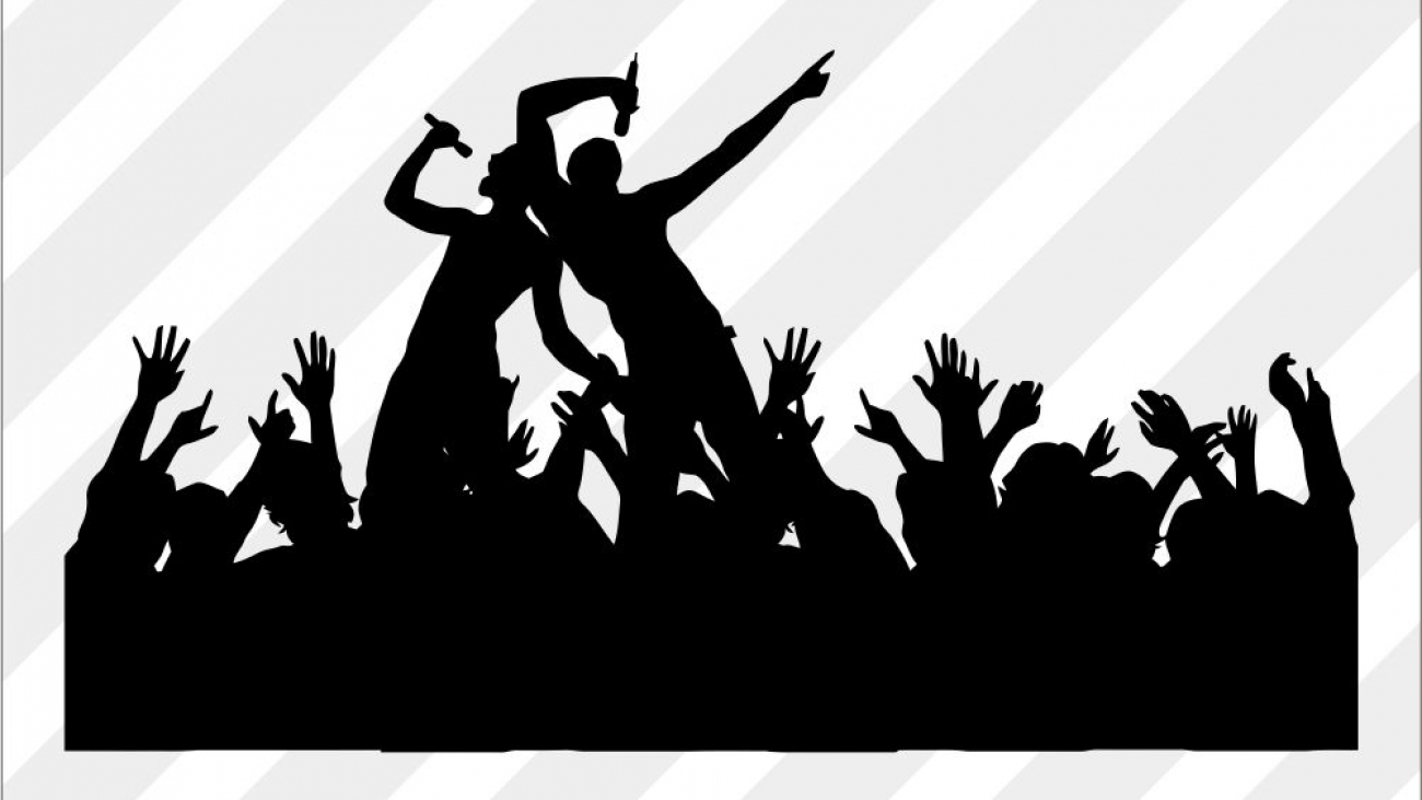 Free Party Concert SVG cut files, PNG, DXF and EPS Vector