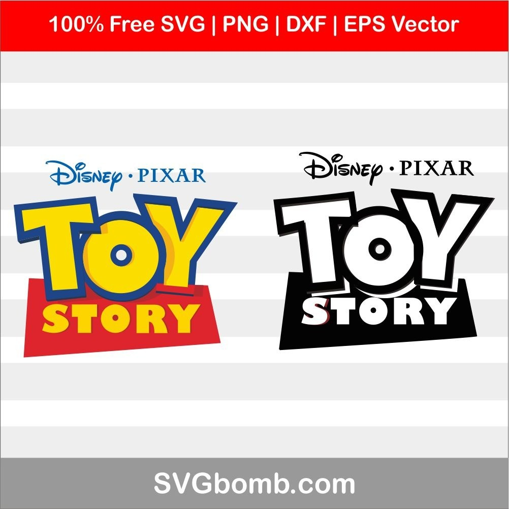 Toy Story Logo Cutting File For Cricut And Cameo Svgbomb Com