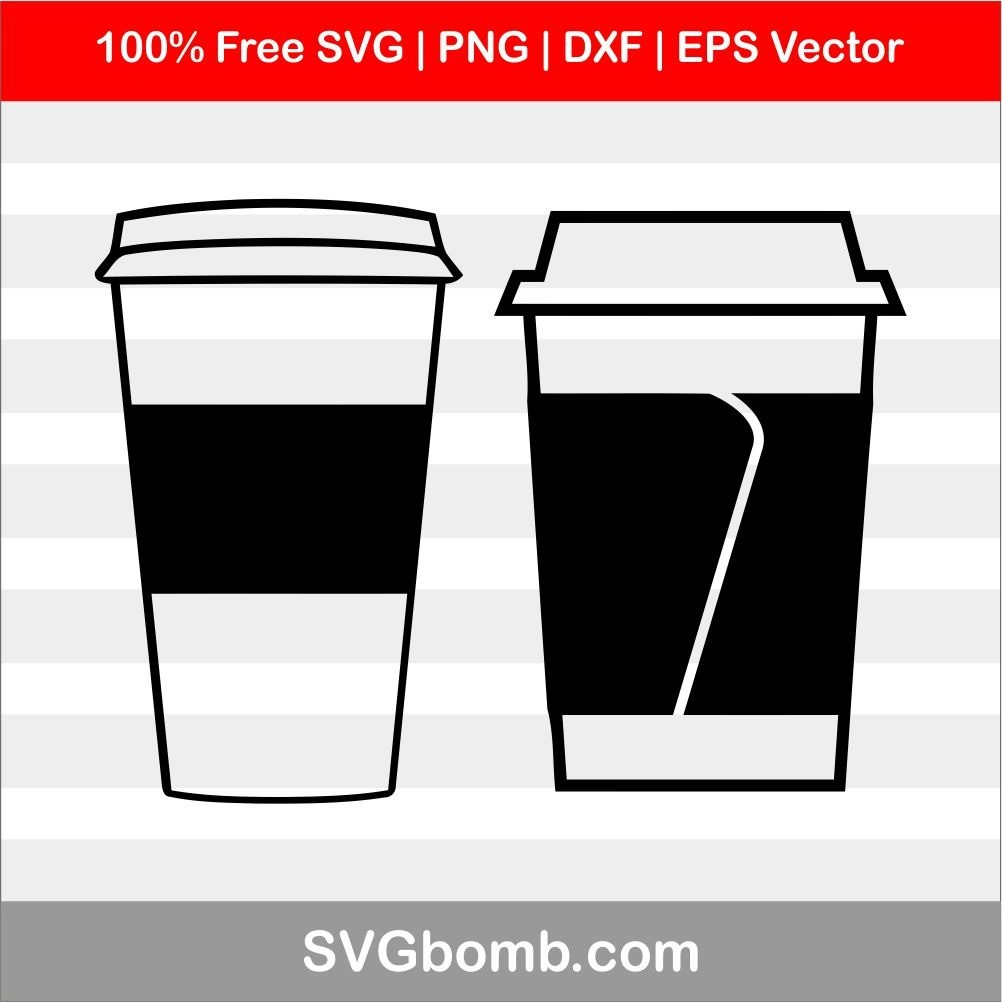 Download Free SVG: Travel Coffee Cup | SVGBOMB