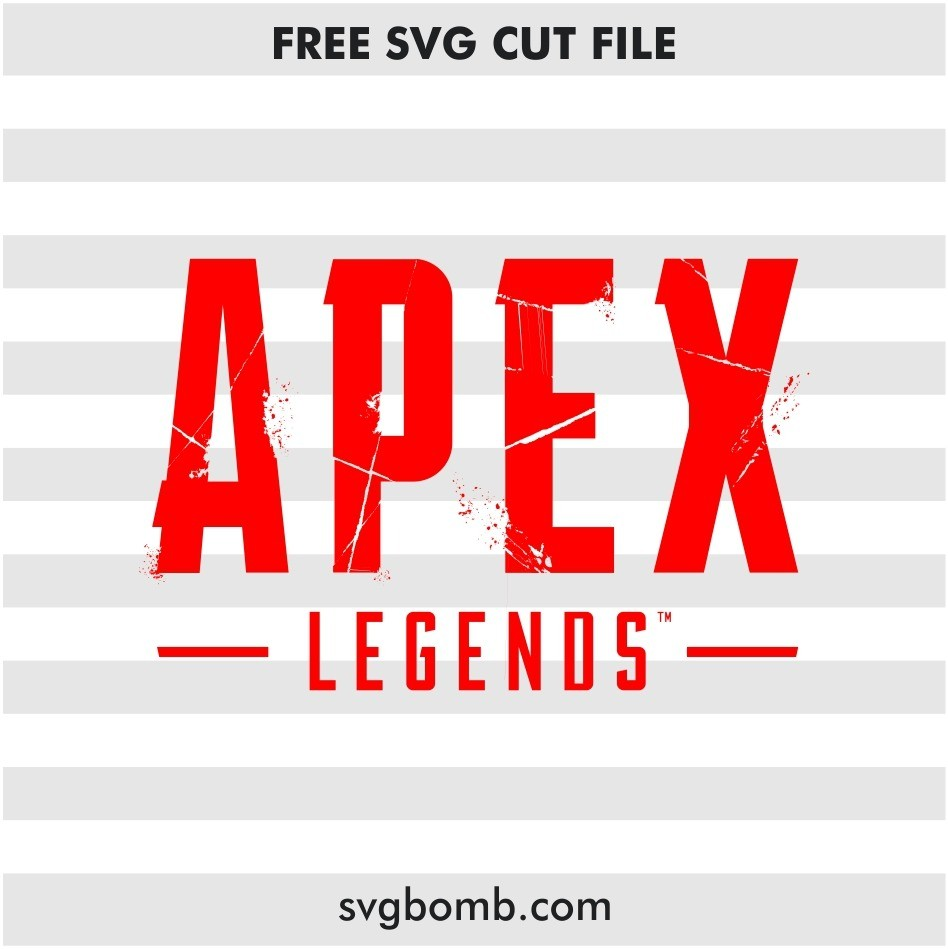 apex legends logo svg cut file