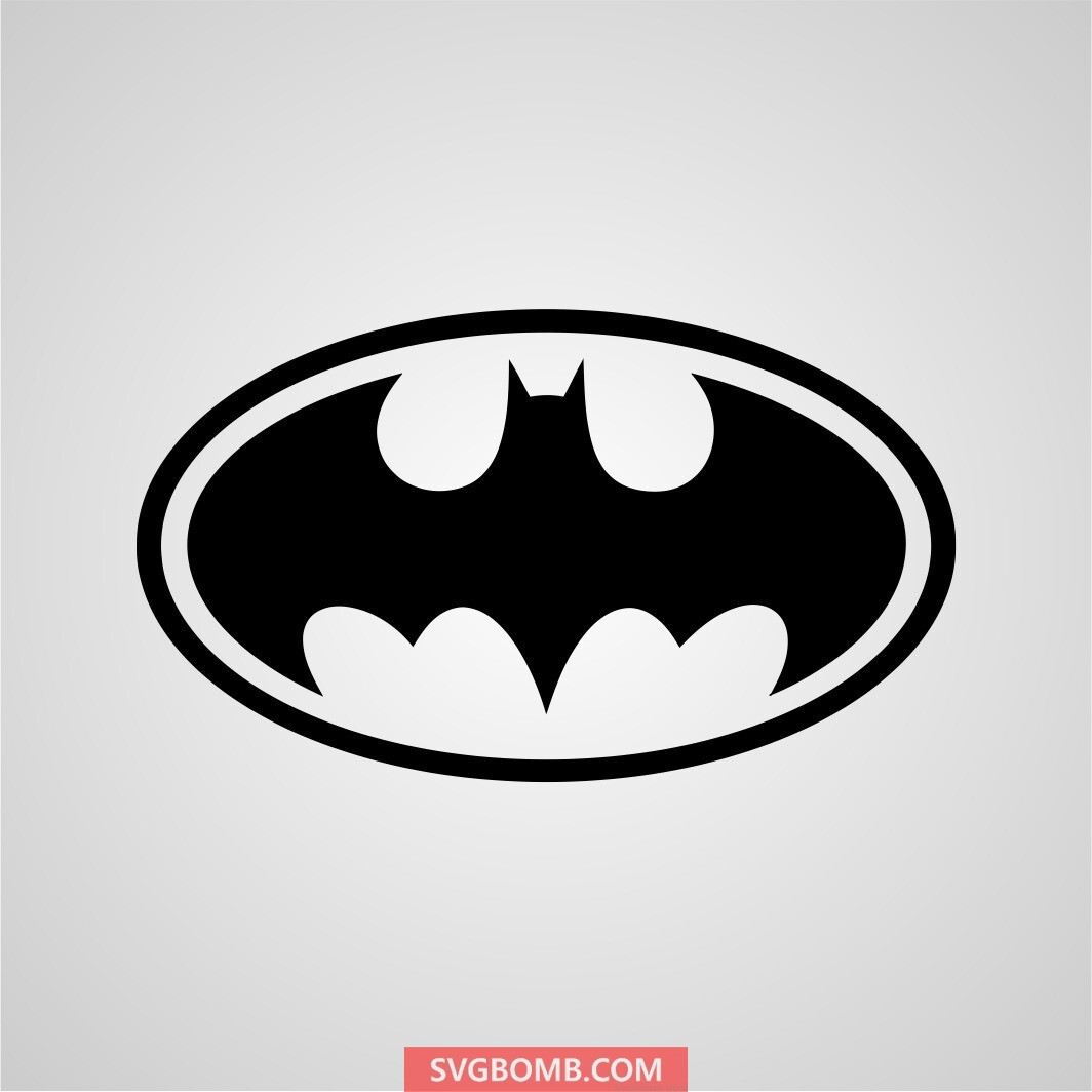 batman svg cut file