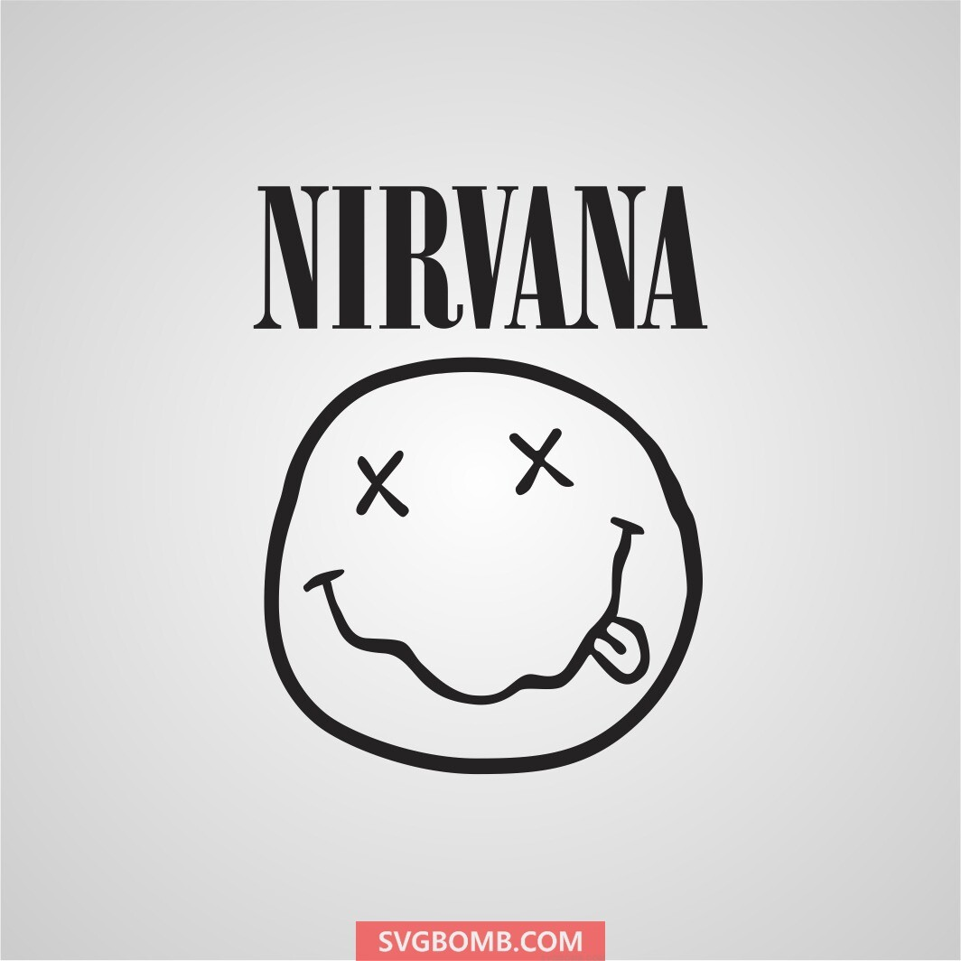 Nirvana svg cut file