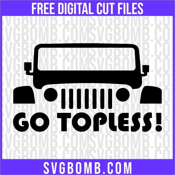 jeep go topless cut file