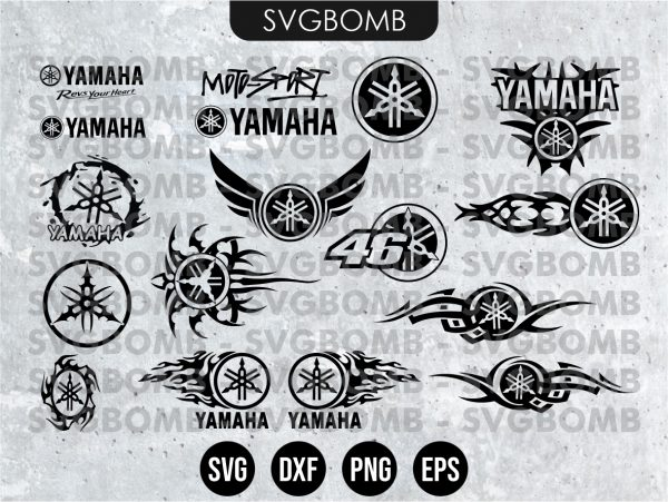 Yamaha Logo SVG Bundle