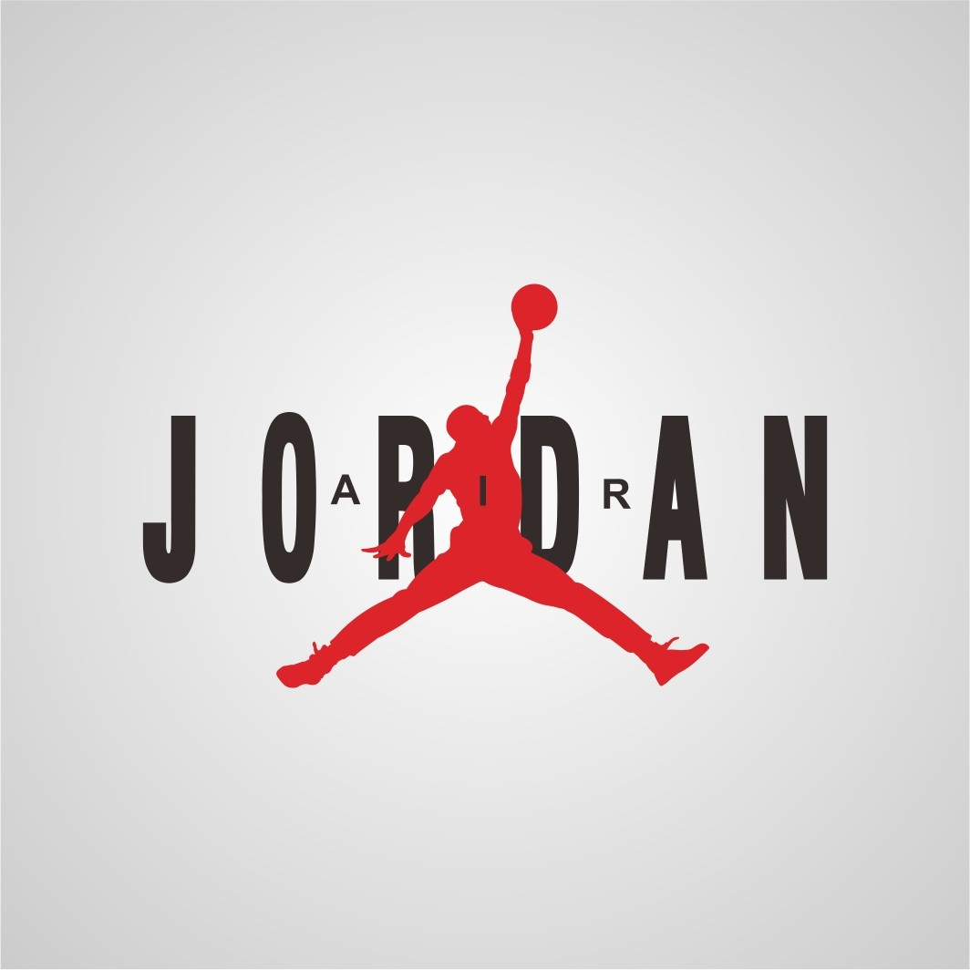Air Jordan Logo SVG
