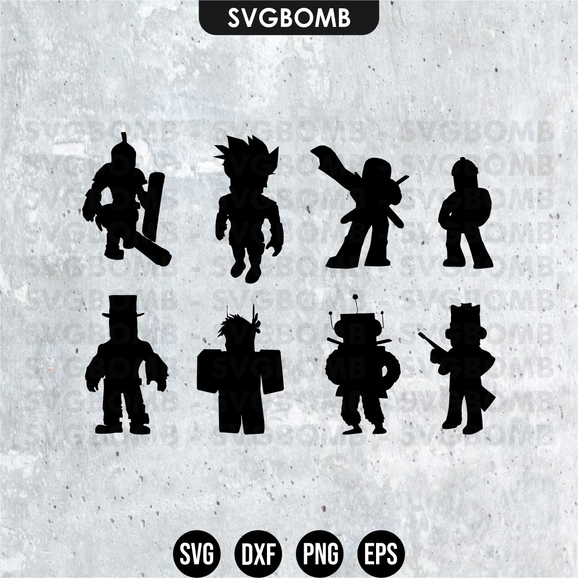Roblox Silhouette Character